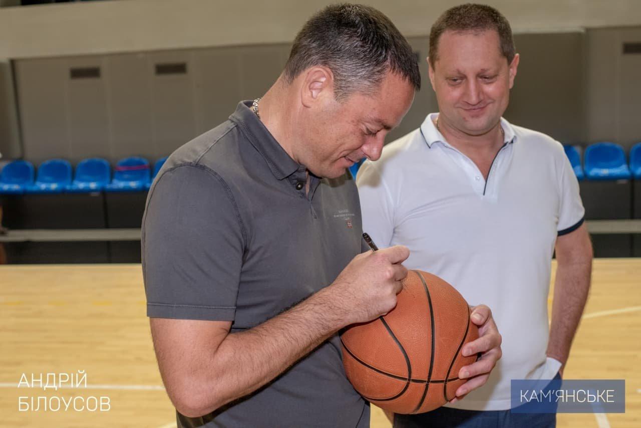 В Каменском на базе СК «Прометей» состоялось закрытие детского лагеря по баскетболу, фото-1