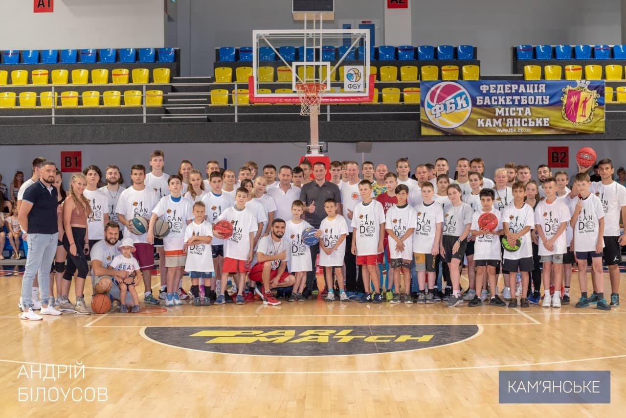 В Каменском на базе СК «Прометей» состоялось закрытие детского лагеря по баскетболу, фото-3