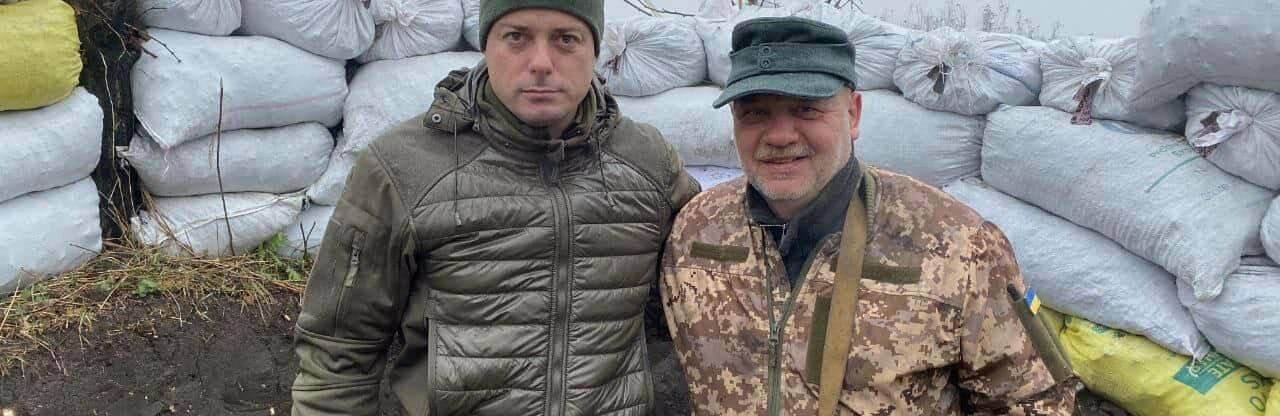 Мэр Каменского ездил в зону ООС