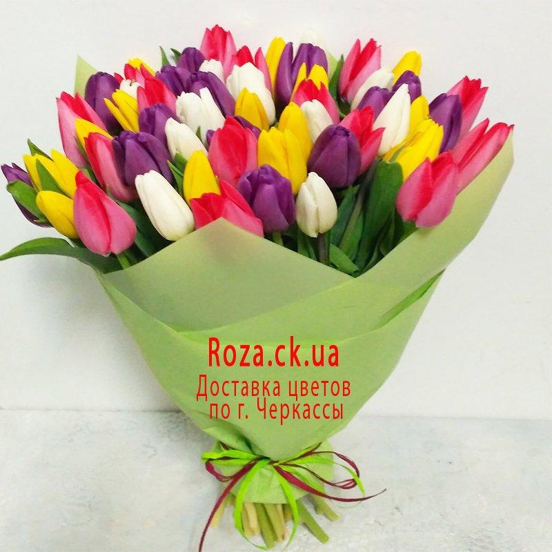 Букет тюльпанов в Черкассах