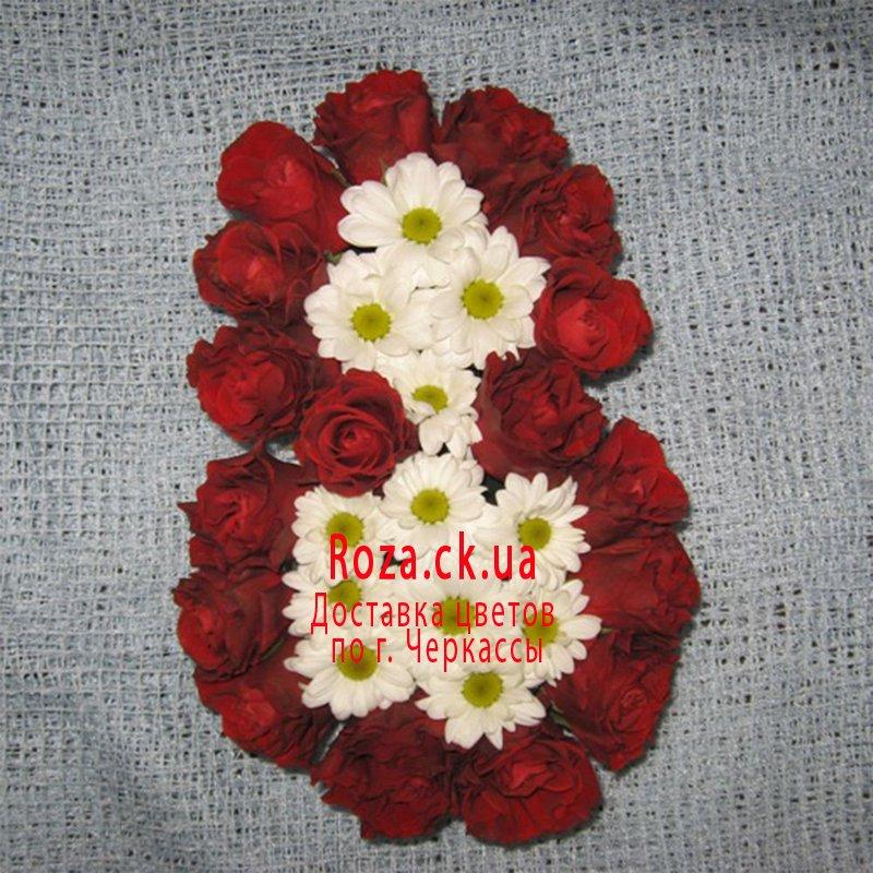 Служба доставки цветов в Черкассах